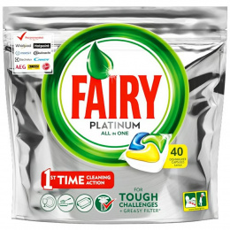 Fairy tabletki do zmywarki All in One 40szt Lemon
