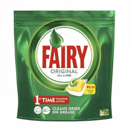 Fairy tabletki do zmywarki All in One 75szt Lemon